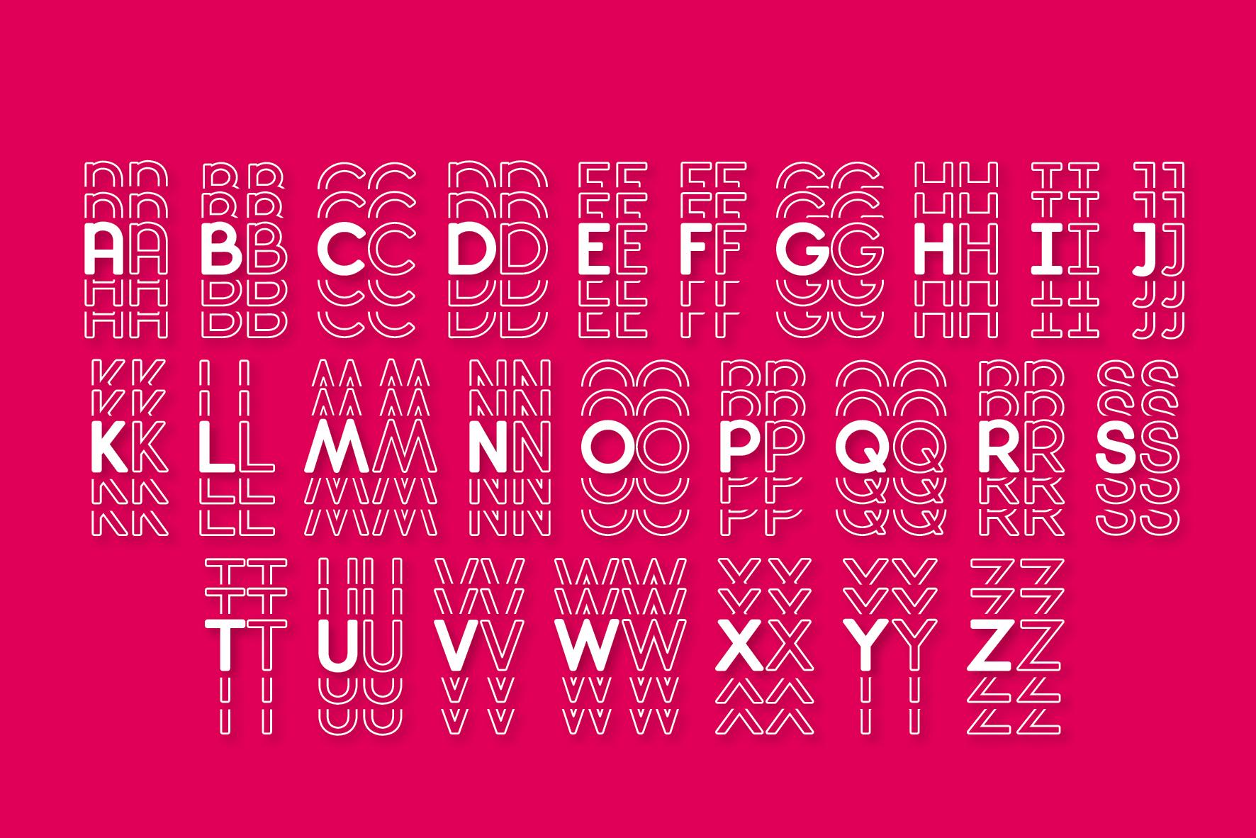 Diamanda Font Family Bundle includes 6 crafting fonts example image 21