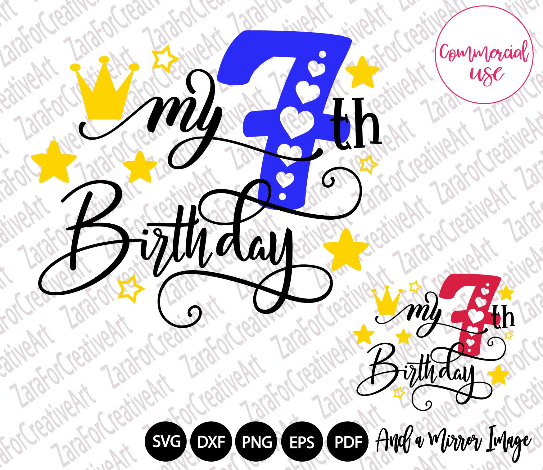my birthday svg bundle, birthday girl bundle birthday boy , example image 8