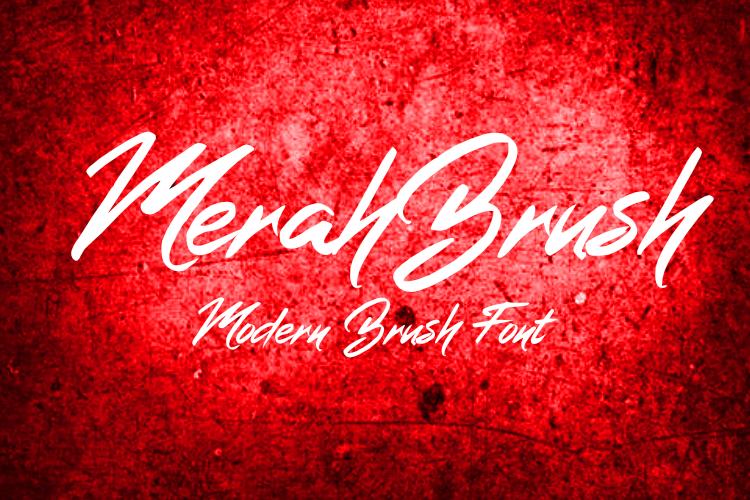 MerahBrush example image 1