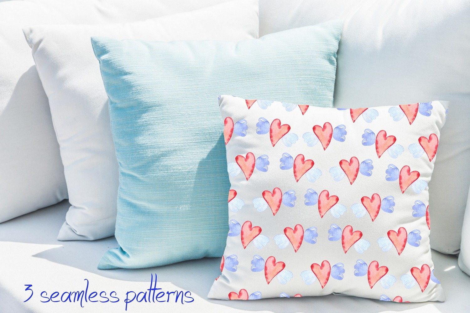 Love collection. Elements patterns example image 5
