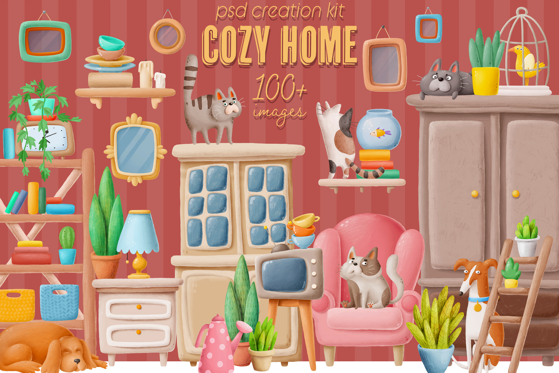 Cozy Home creation kit example image 1