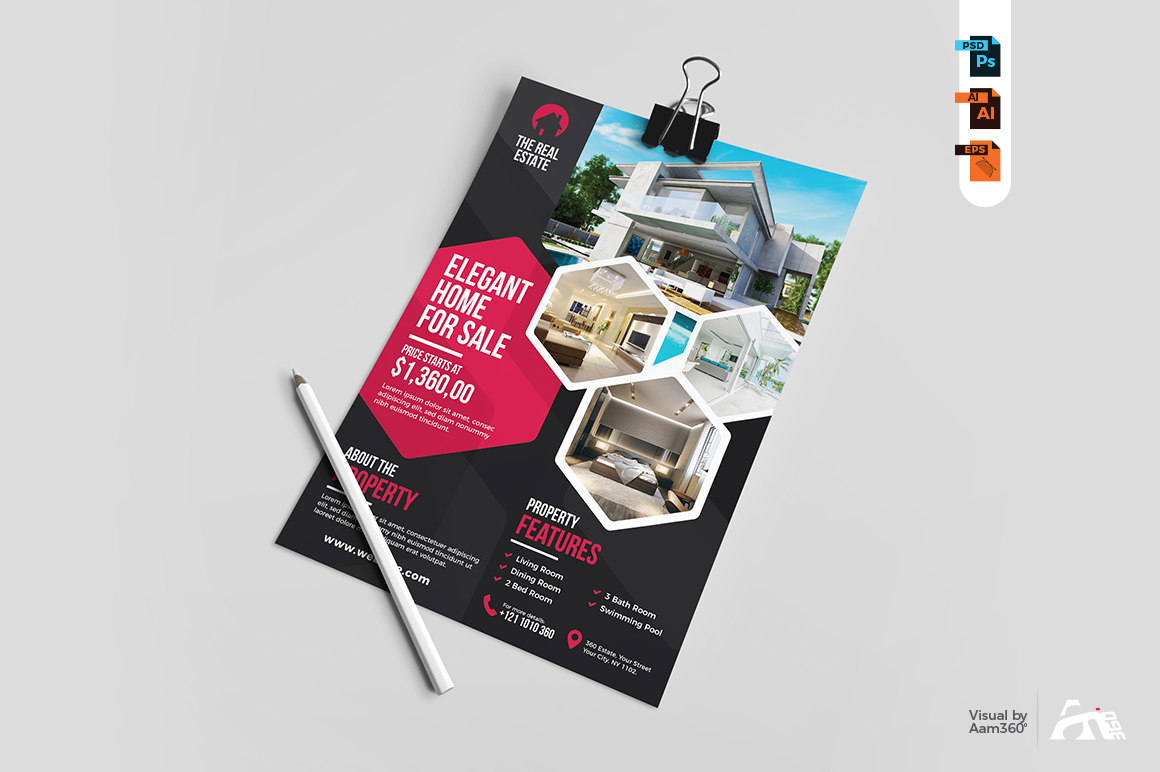 Real Estate Flyer Template example image 4