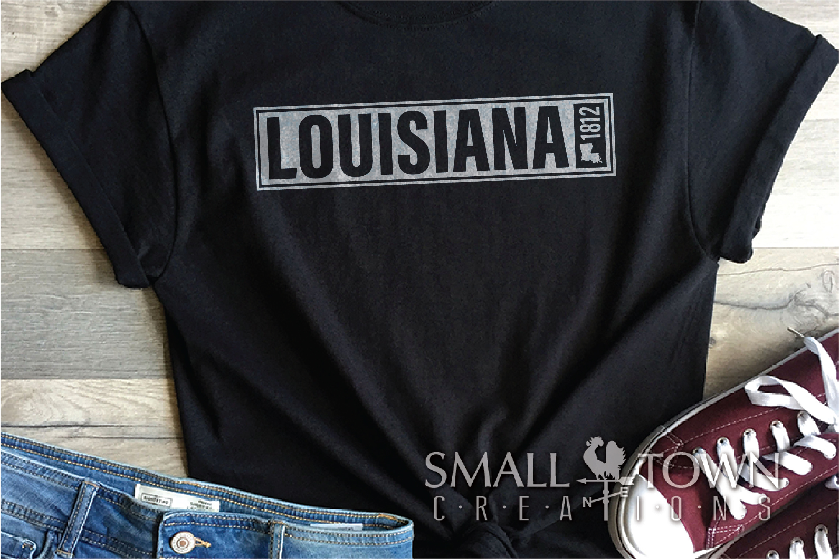 Louisiana, Sportsman's Paradise, Logo, PRINT, CUT & DESIGN example image 6