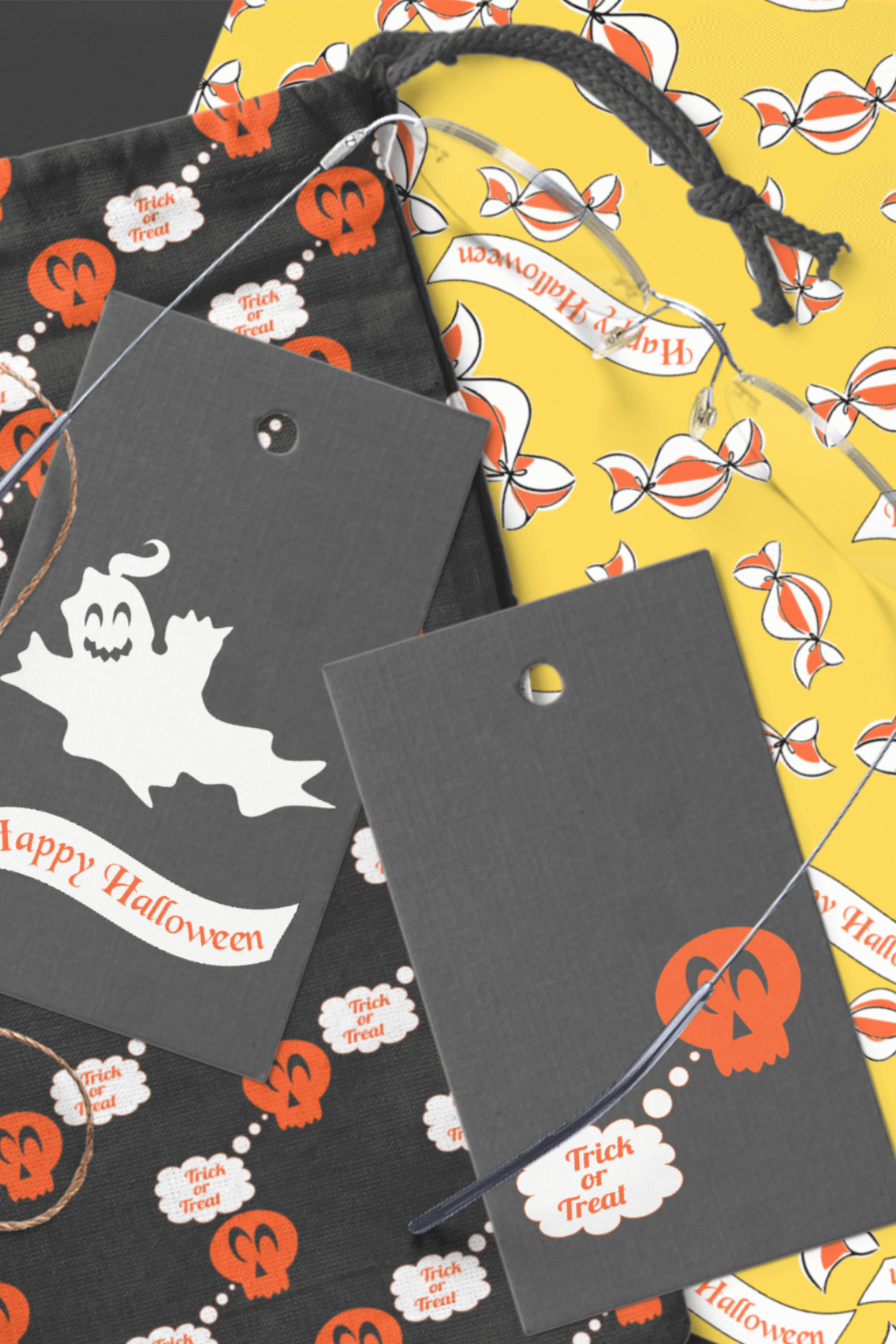 Halloween Clipart and Digital Collage Sheets Set - PNG files example image 7