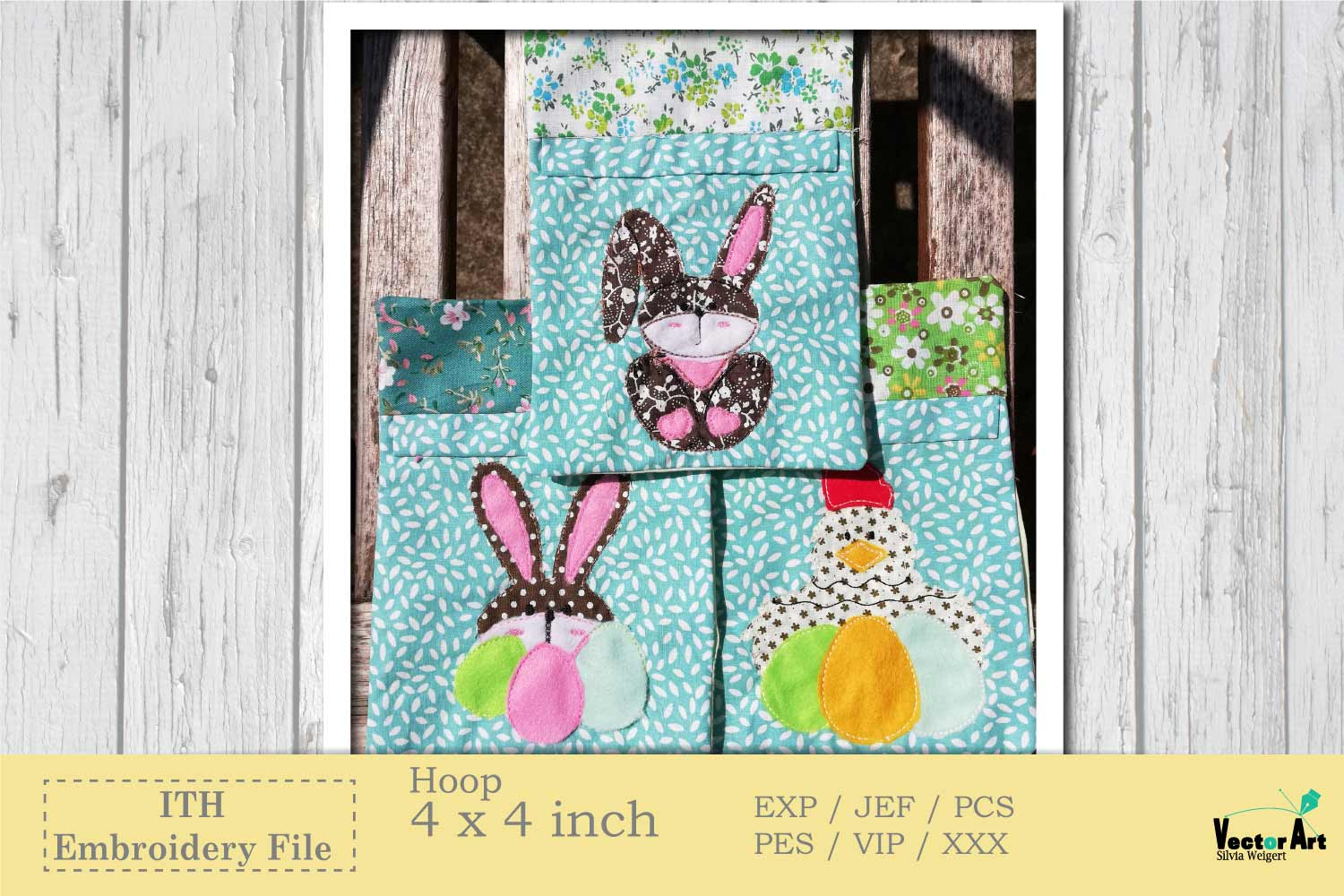 ITH Easter Bundle - Machine Embroidery Files - 10 Projects example image 3