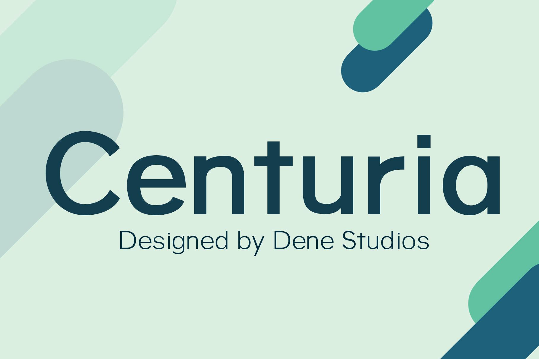 Centuria Typeface example image 1