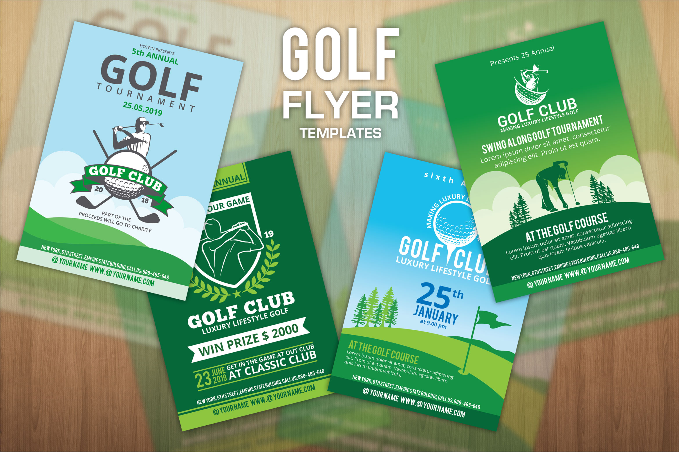 golf flyers example image 1
