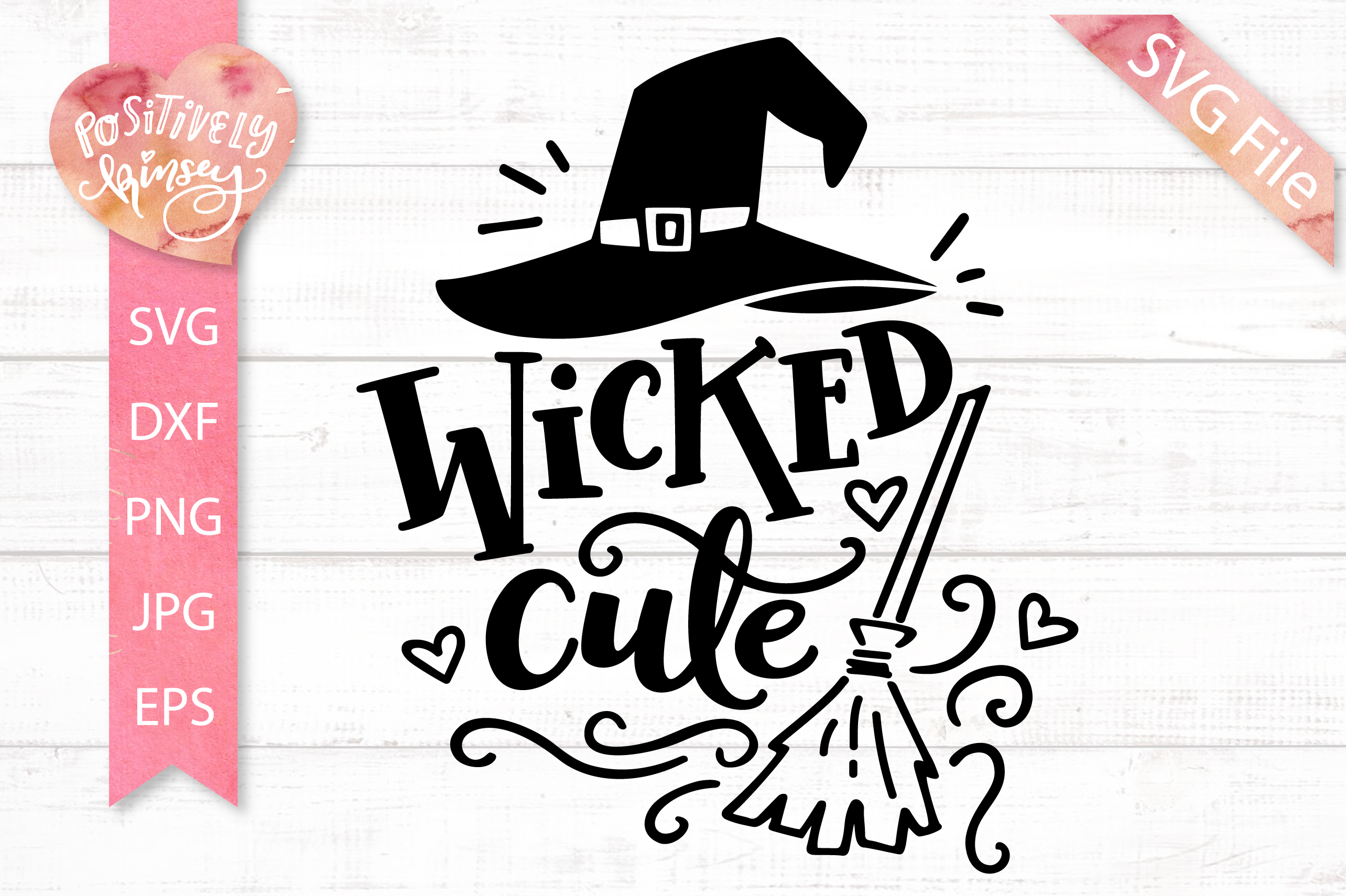 The Little Witch SVG Bundle, Halloween SVG DXF PNG EPS Files example image 12