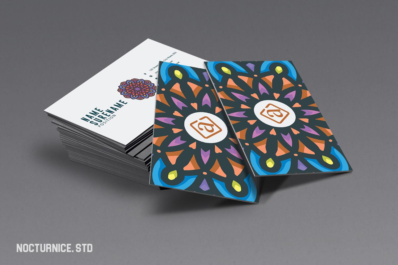 Mandala Business Card Template example image 1
