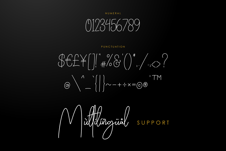 Daisuke - Signature Font example image 6