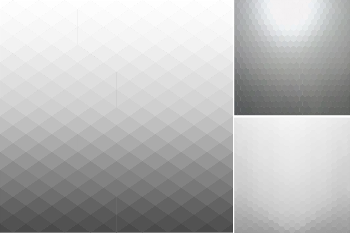 Gray abstract vector backgrounds. example image 3