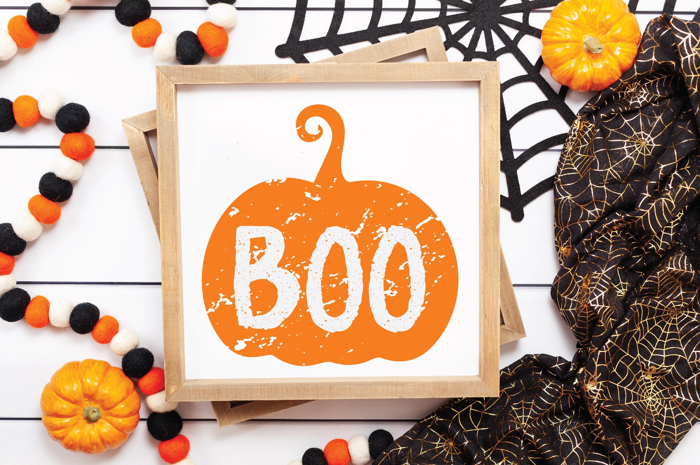 Pumpkins SVG Cut File Bundle example image 8