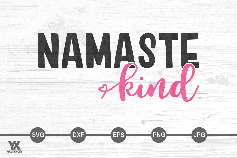 Namaste Kind SVG example image 4