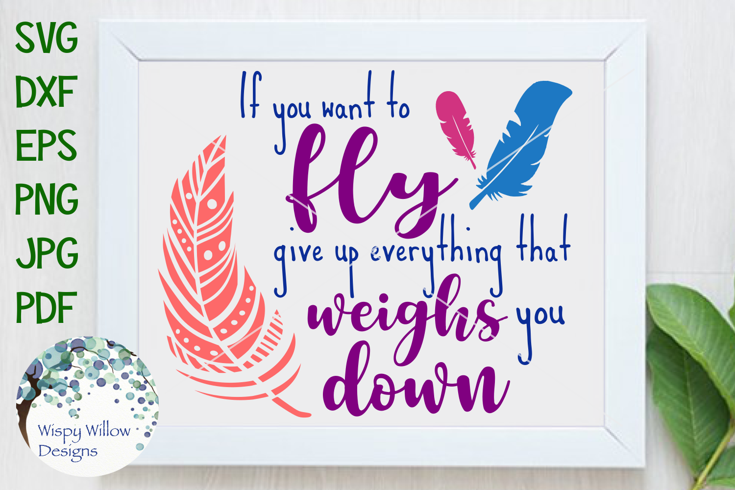 If You Want to Fly Give Up Everything That Weighs You Down example image 1