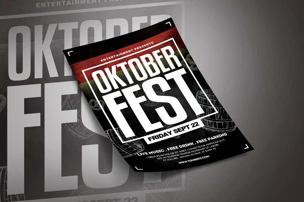 Oktoberfest Flyer Template example image 2