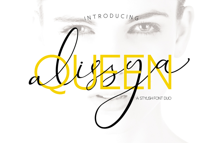 The Queen Alissya Font Duo example image 1