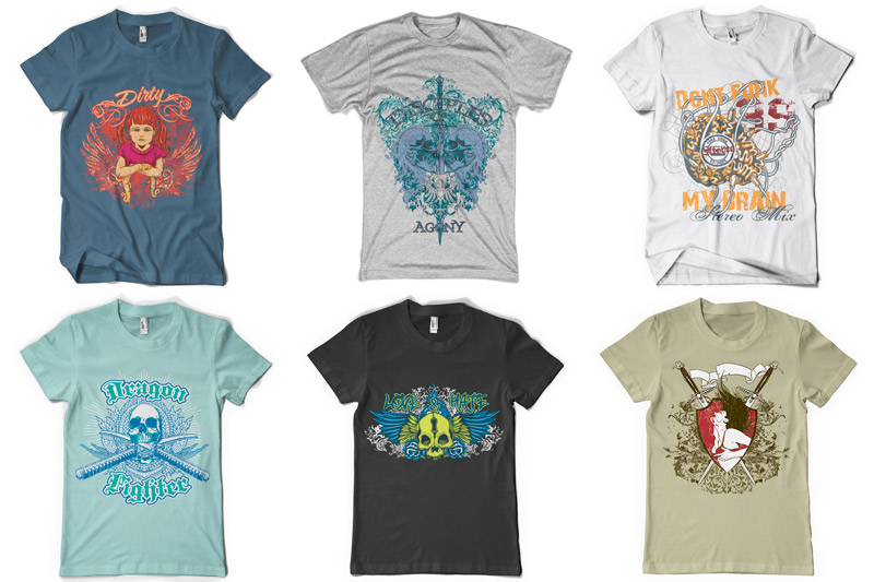 100 T-shirt Designs Vol 2 example image 5
