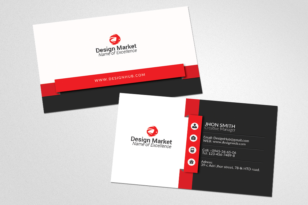 High Quality Business Cards example image 2