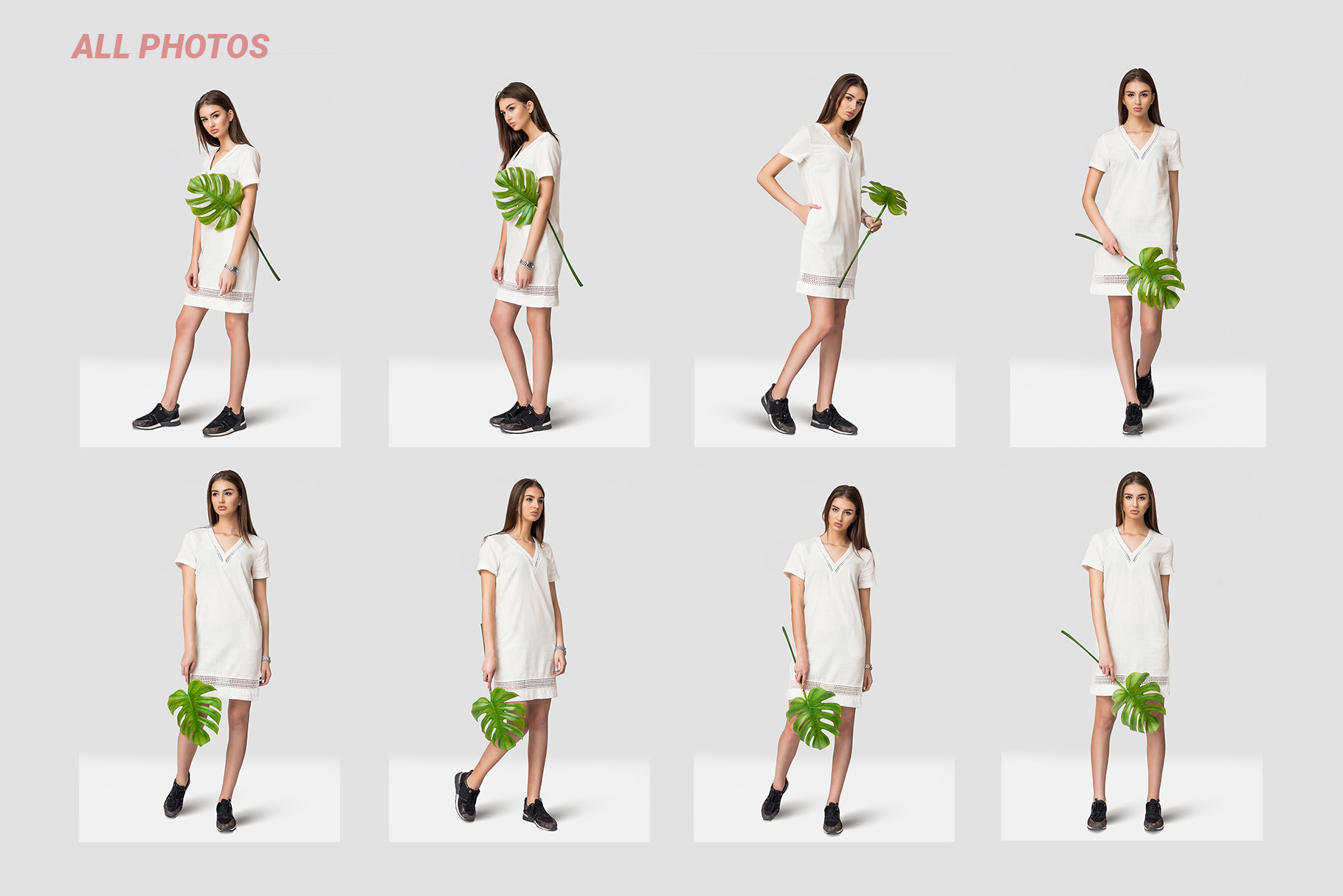 Female dress mockups Free demo example image 9