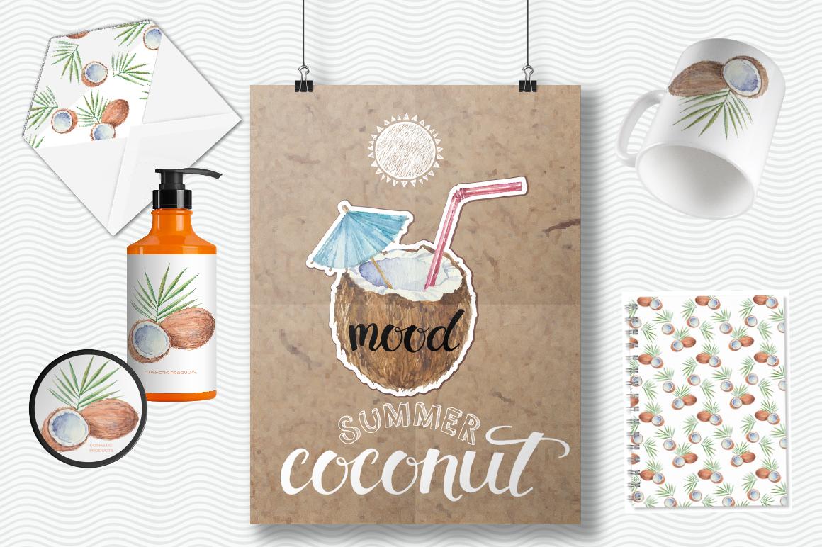 Coconut set example image 6