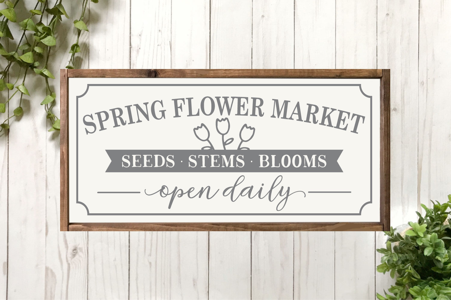 Spring SVG Bundle - Cut Files for Signs example image 13