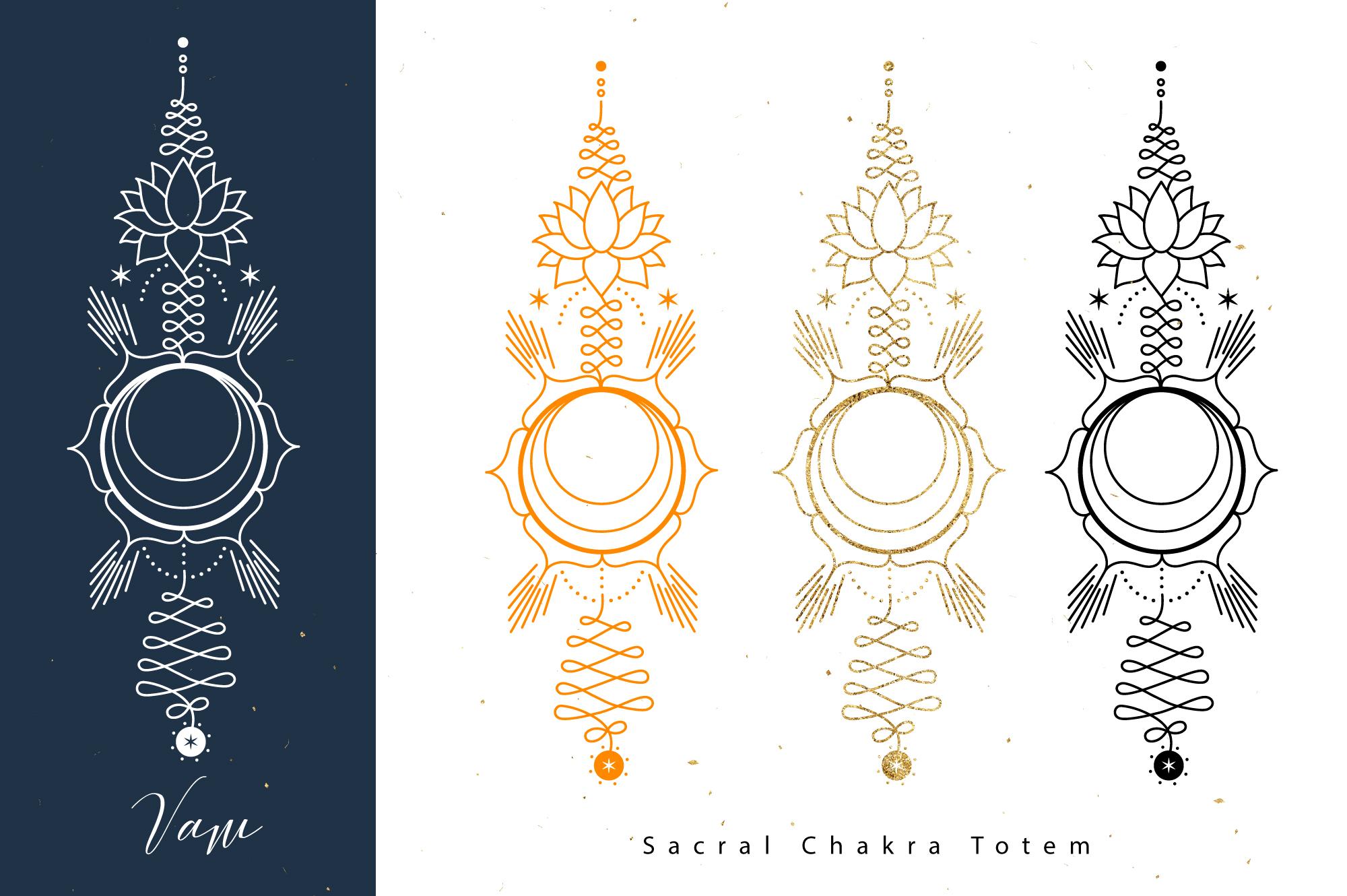 Chakras Totems example image 3