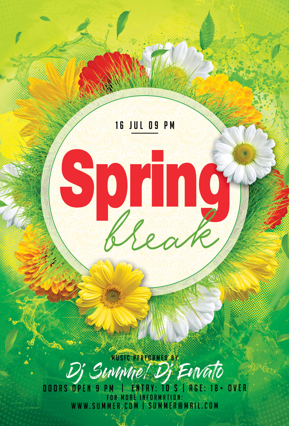 Spring Festival Party Flyer example image 4