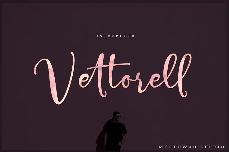 Vettorell Font Trio example image 1