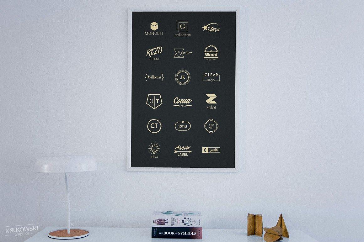 Minimalist Logos - Bundle Set example image 4