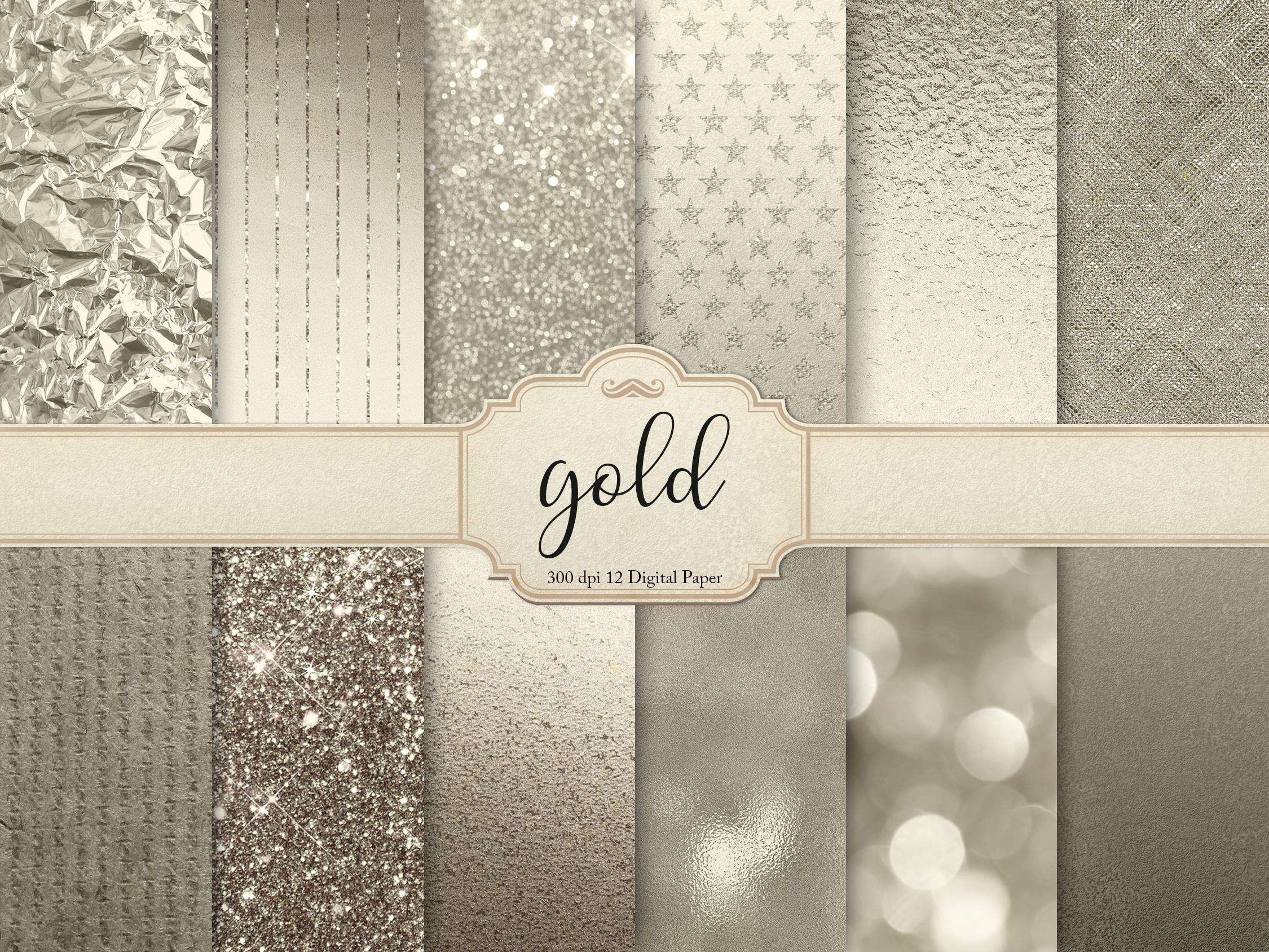 Metallic Textures, Backgrounds example image 1