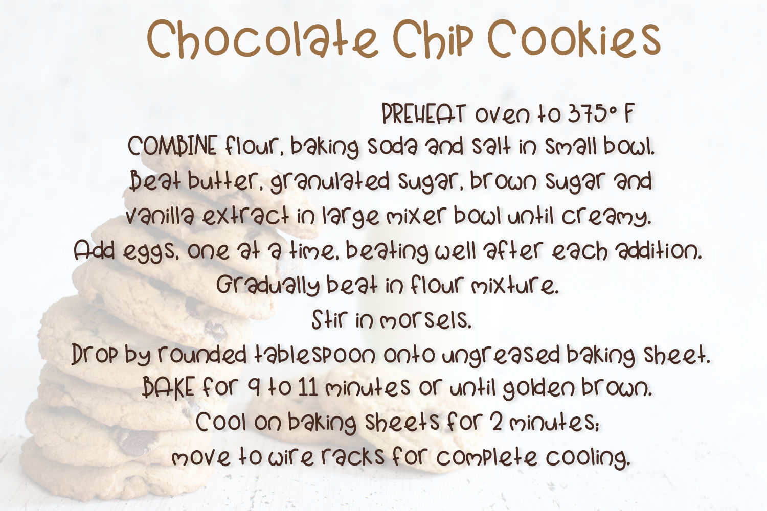 Cookie Tower example image 3