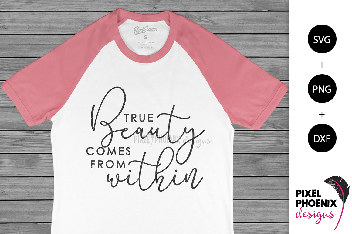 True Beauty Comes From Within SVG example image 2