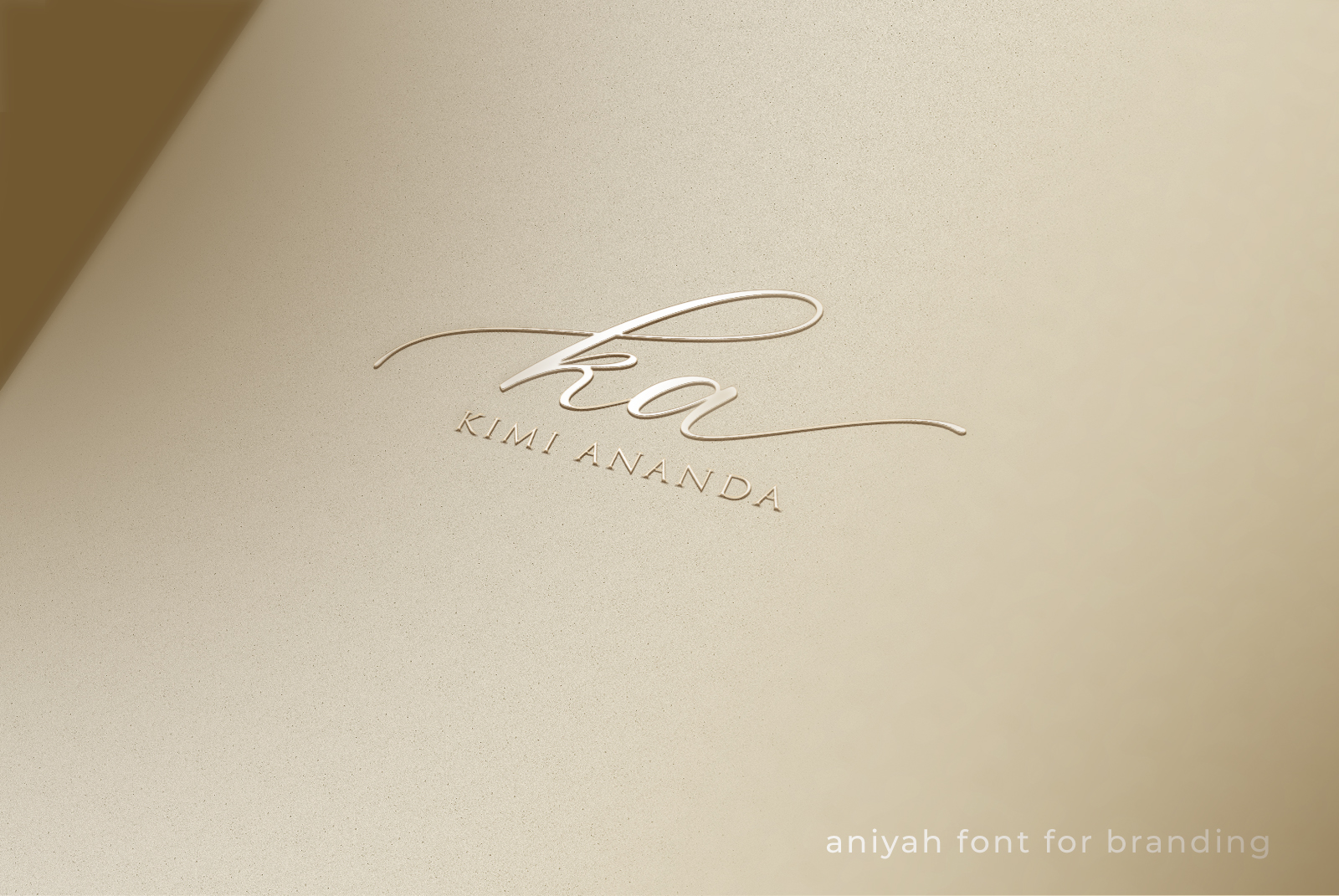 Aniyah Script - Beautiful Calligraphy example image 5