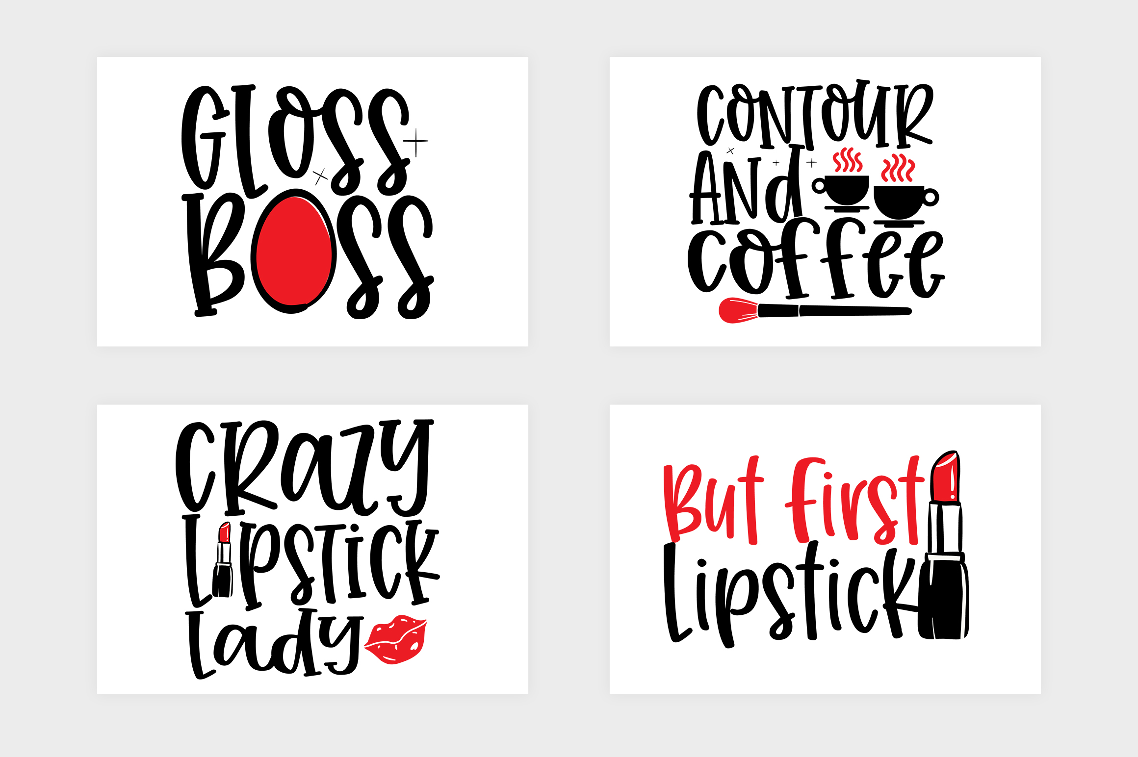 Makeup SVG Bundle, Cosmetic SVG Bundle example image 5