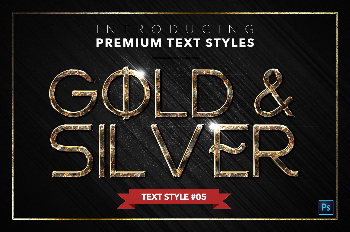 Gold & Silver #5 - 15 Text Styles example image 6