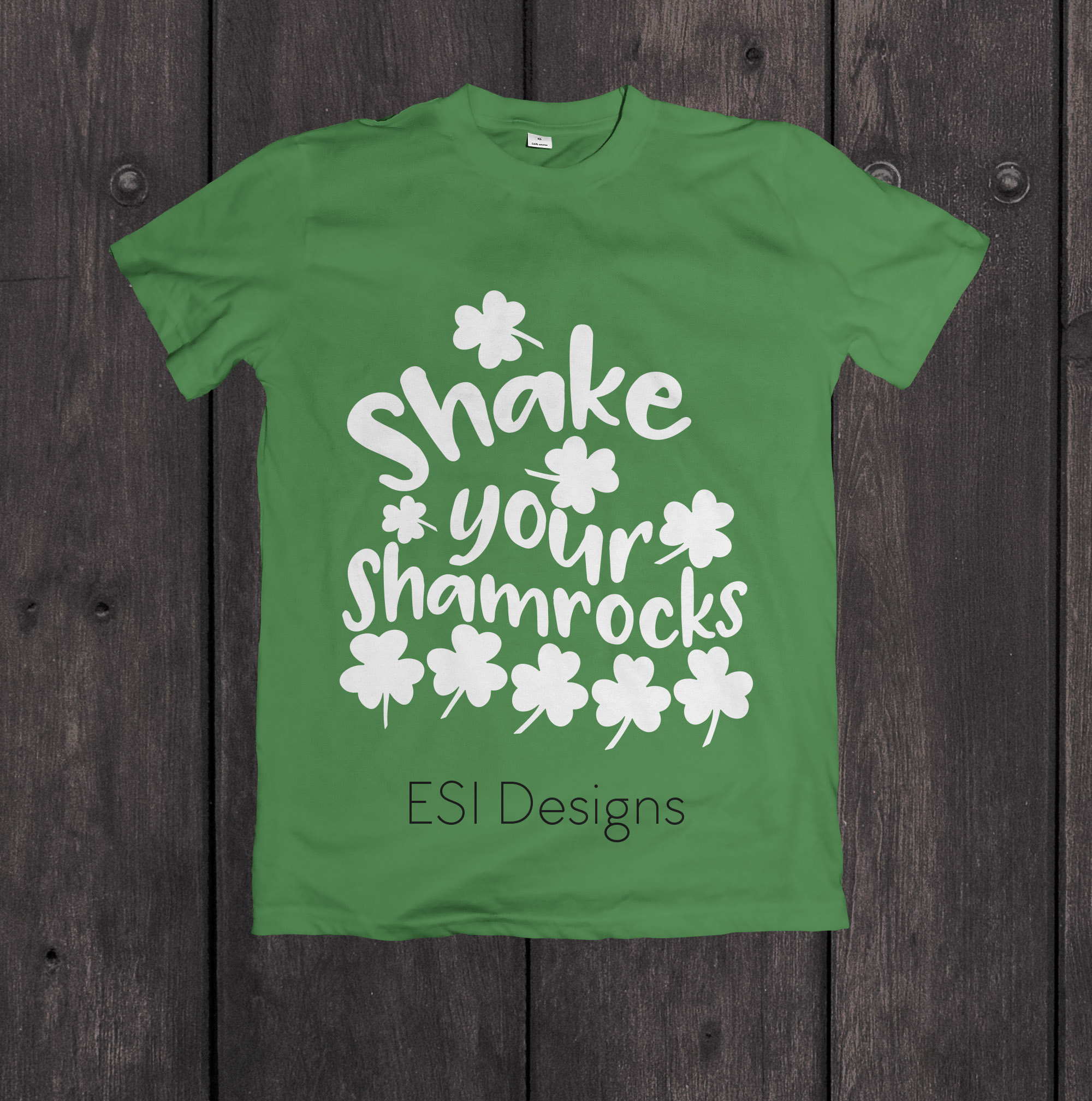 Shake your Shamrocks Quote Design example image 2