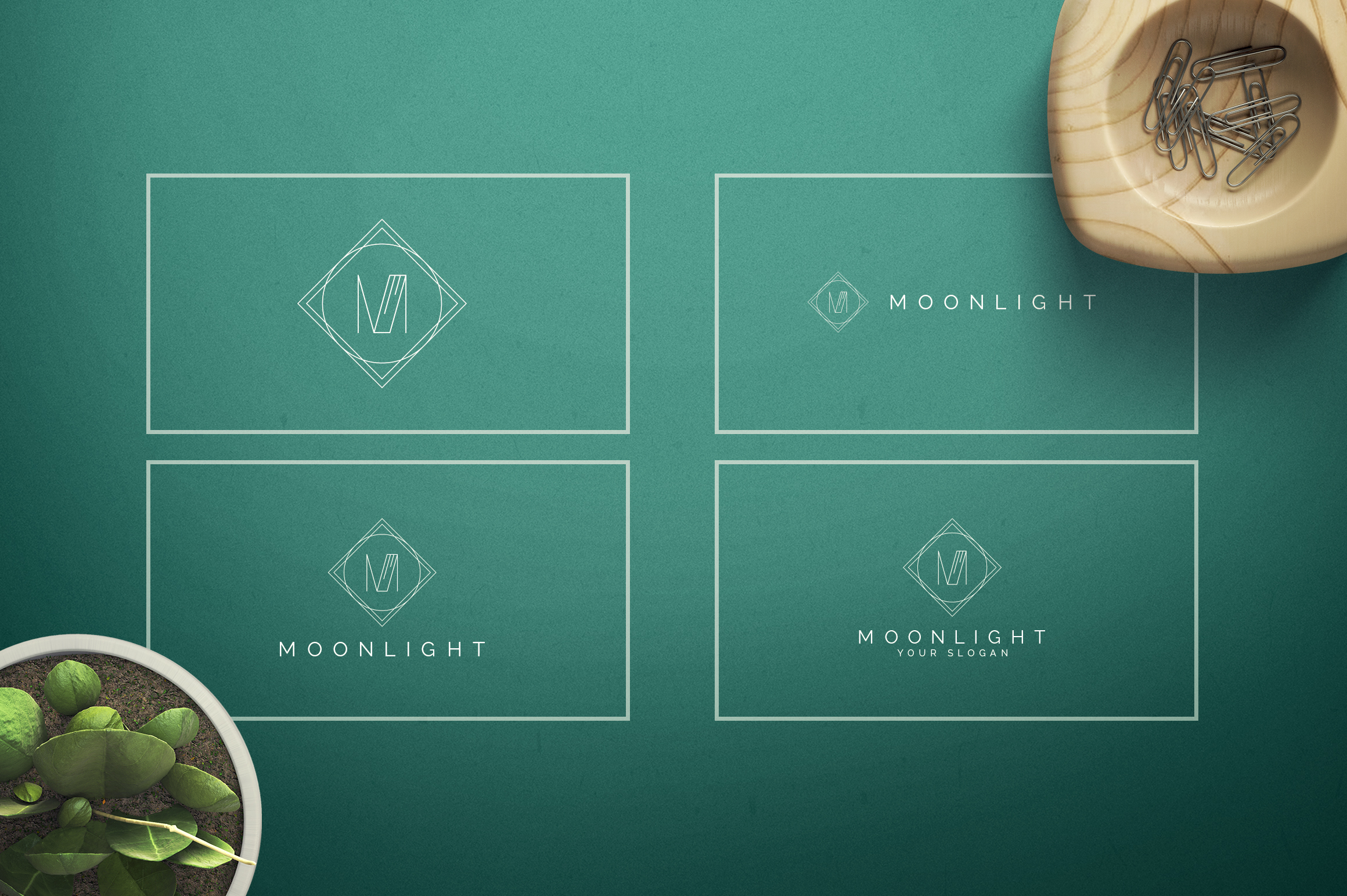 Geometric Letters and Logo Designs example image 14