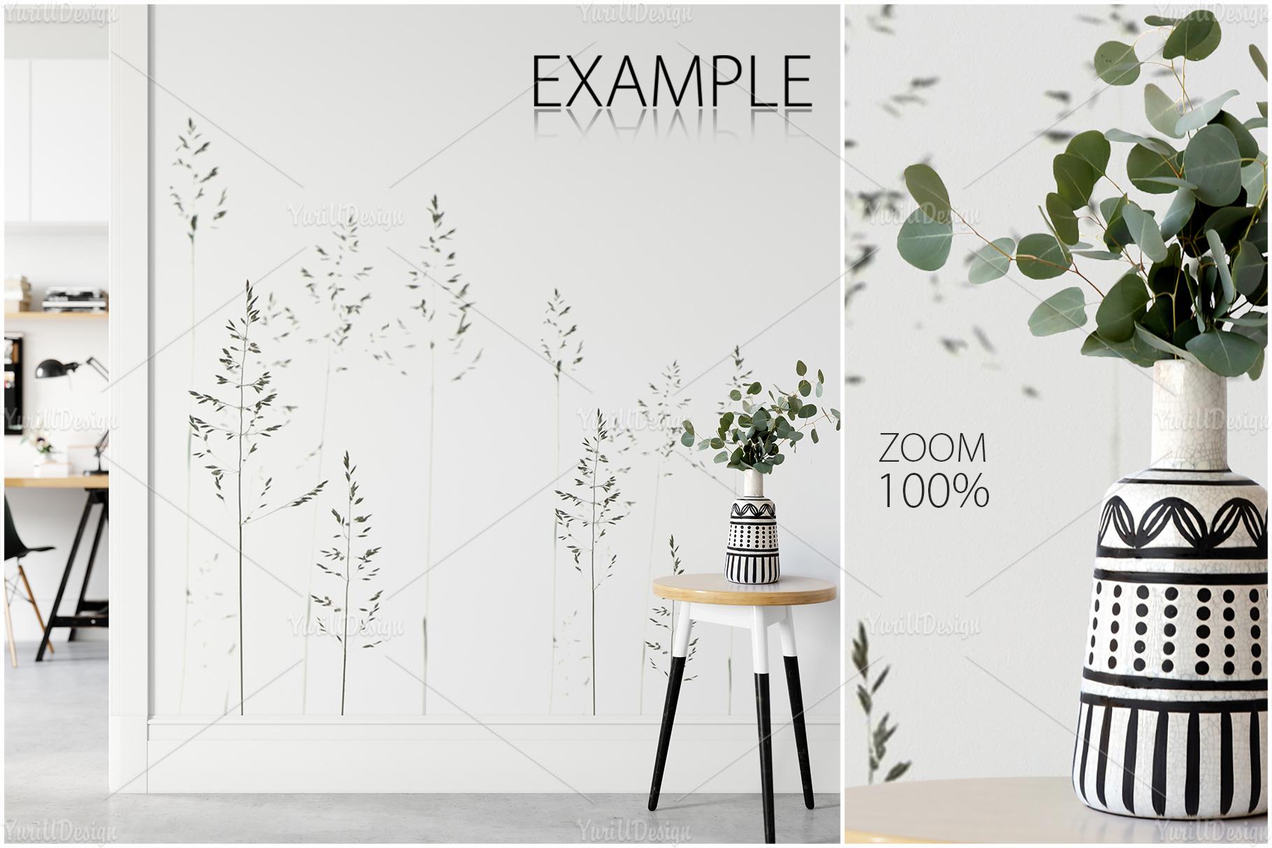 Scandinavian Interior Frames & Walls Mockup Bundle - 3 example image 16