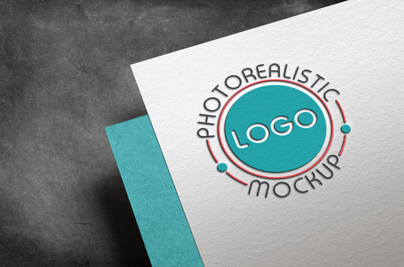 Logo Mock-Up Paper Edition example image 8