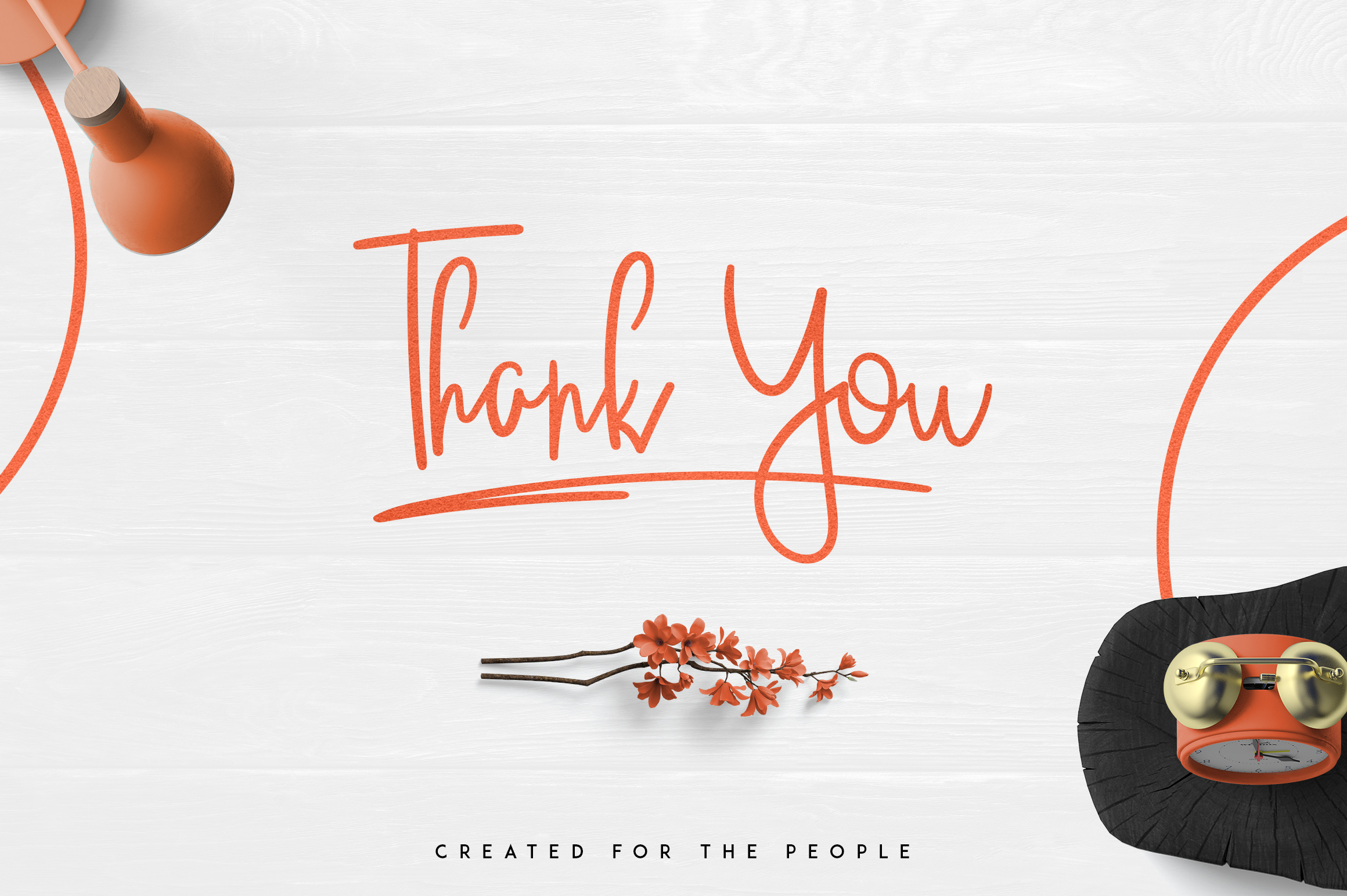 JustBecause font family example image 8