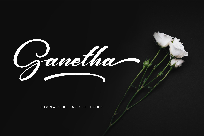 Ganetha Font example image 6