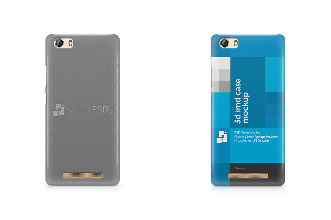 Gionee Marathon M5 Lite 3d IMD Mobile Case Design Mockup 2016 example image 1