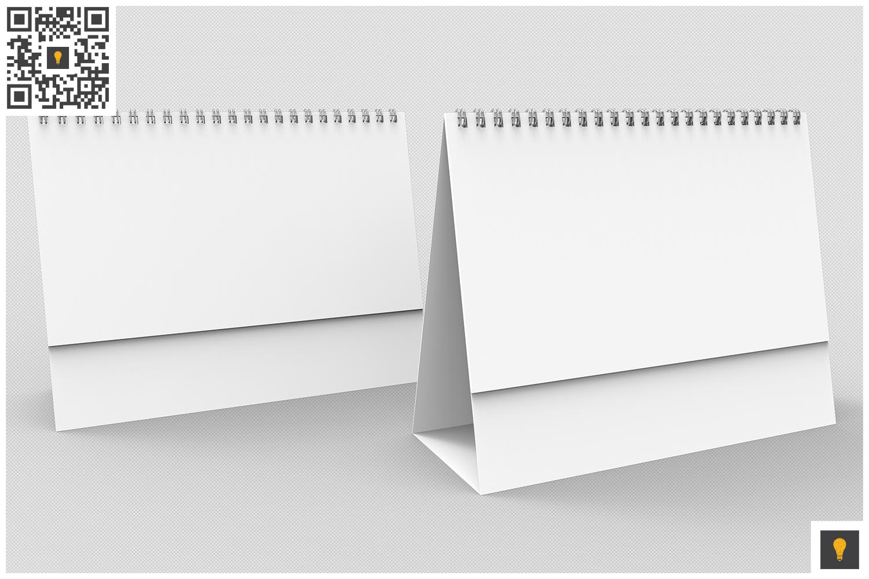 Desktop Calendar 3D Render example image 8