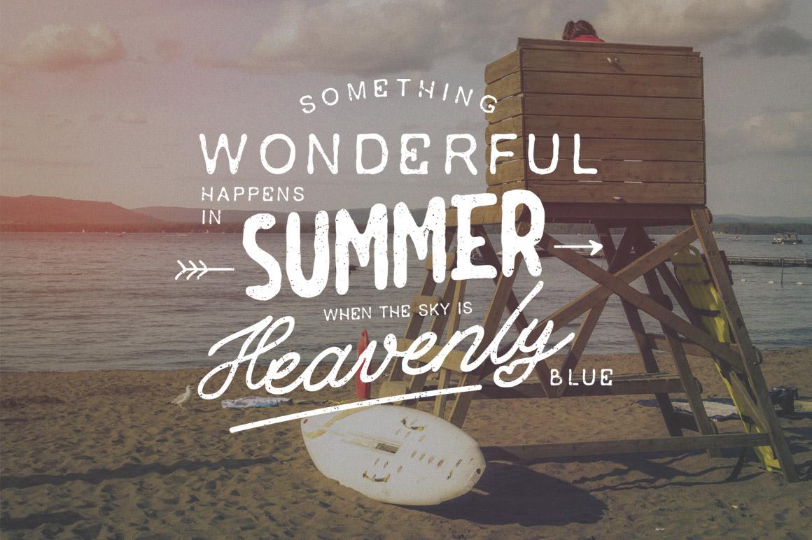 Summer  3 Font Bundles example image 5