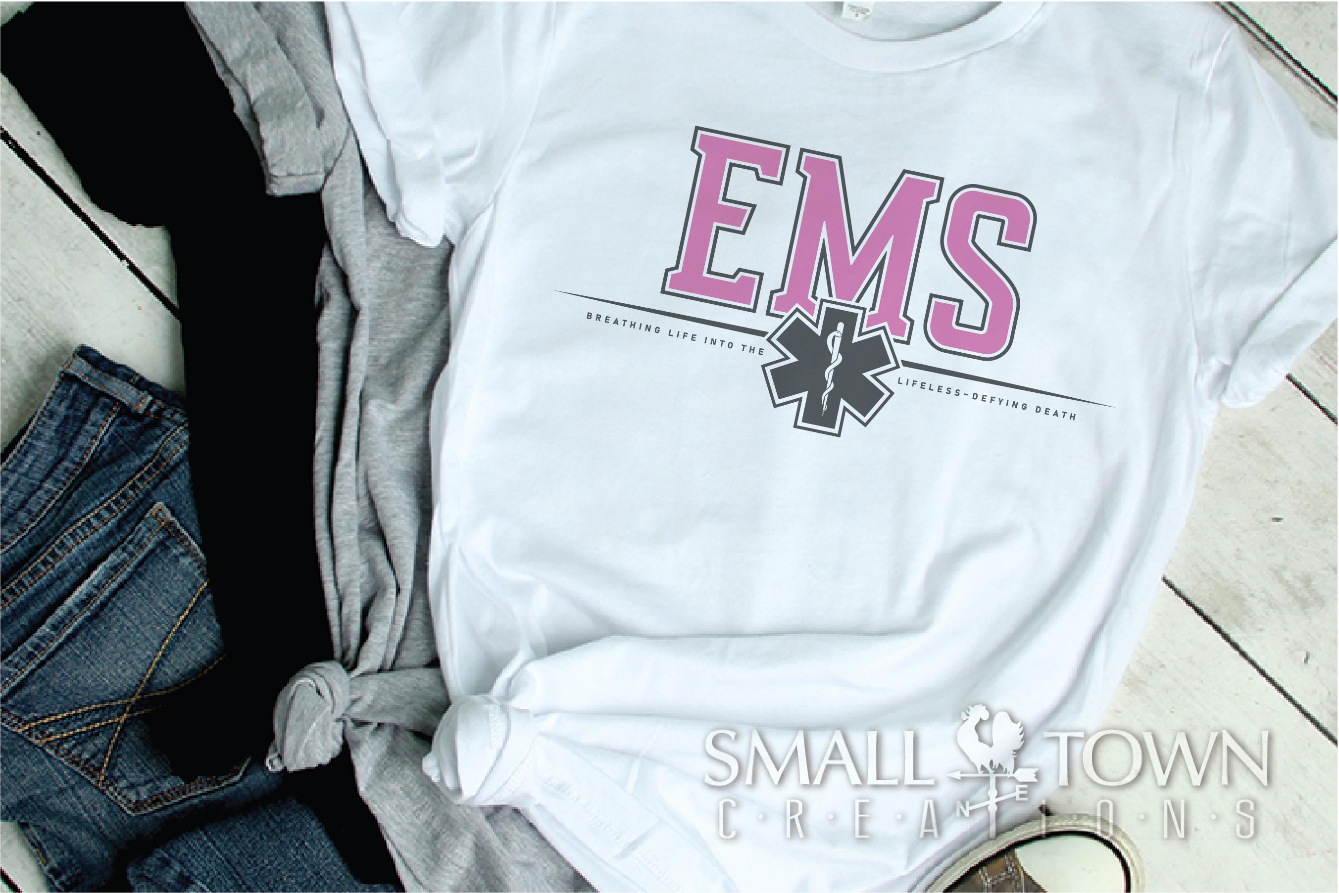 EMS, Emergency Medcial Services, Logo, PRINT, CUT & DESIGN example image 2