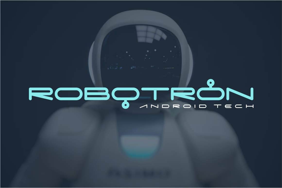 Digitechno - Futuristic Font example image 3
