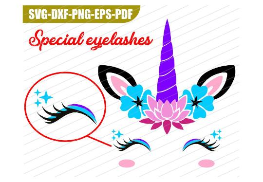 unicorn svg, unicornio, unicorn face svg, cara de unicornio example image 1