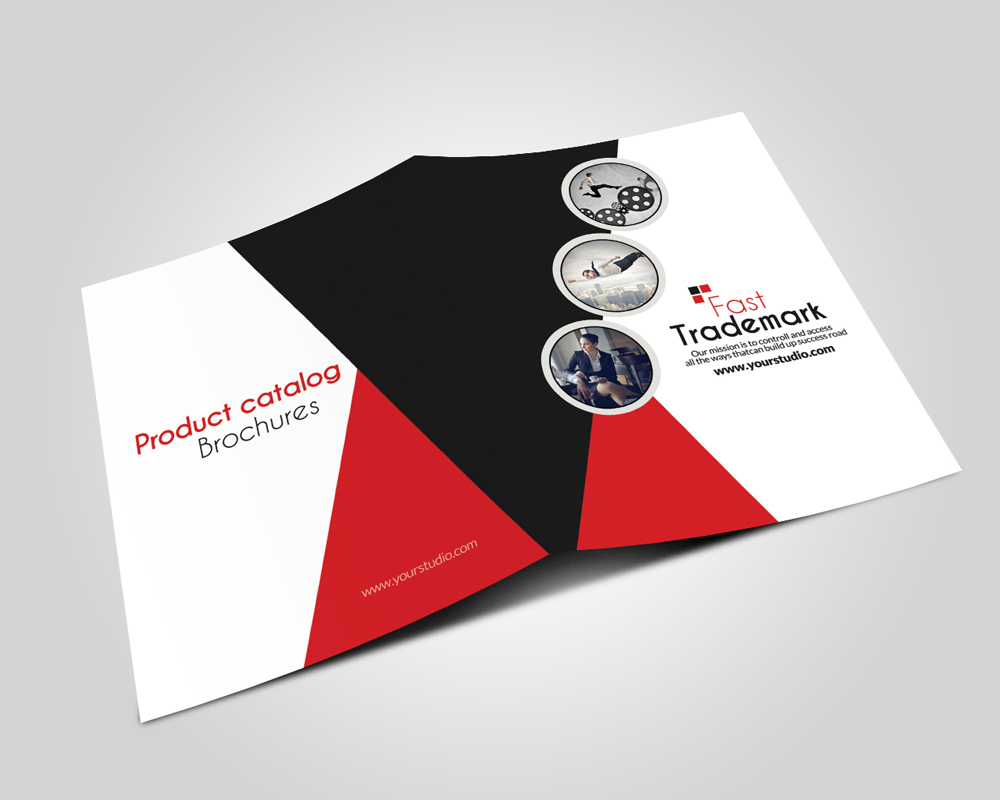 Employment Agency Business Bifold Brochure example image 4
