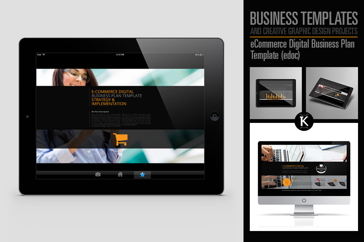 eCommerce Digital Business Plan Template (edoc) example image 1