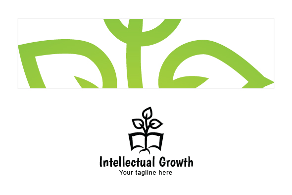 Intellectual Growth - Nature & Education Abstract Stock Logo example image 3
